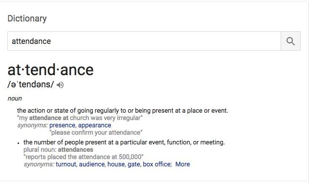 Attendance Matters Thumbnail Image