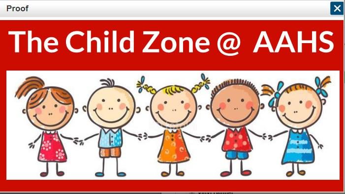 Child Zone Banner