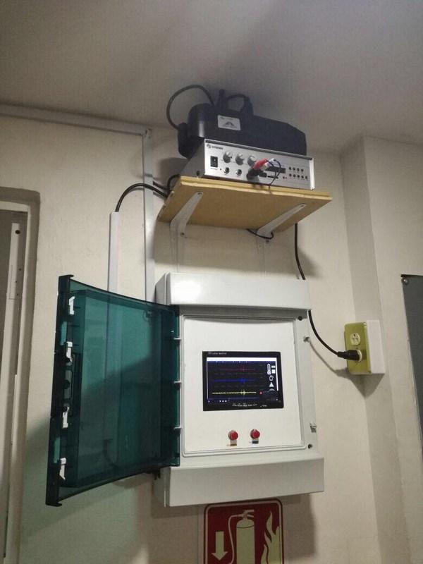 Hoy se instaló la 1a. de 4 alertas sísmicas que tendremos en nuestra Institución Thumbnail Image