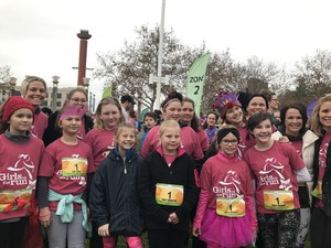 Girls on the run team