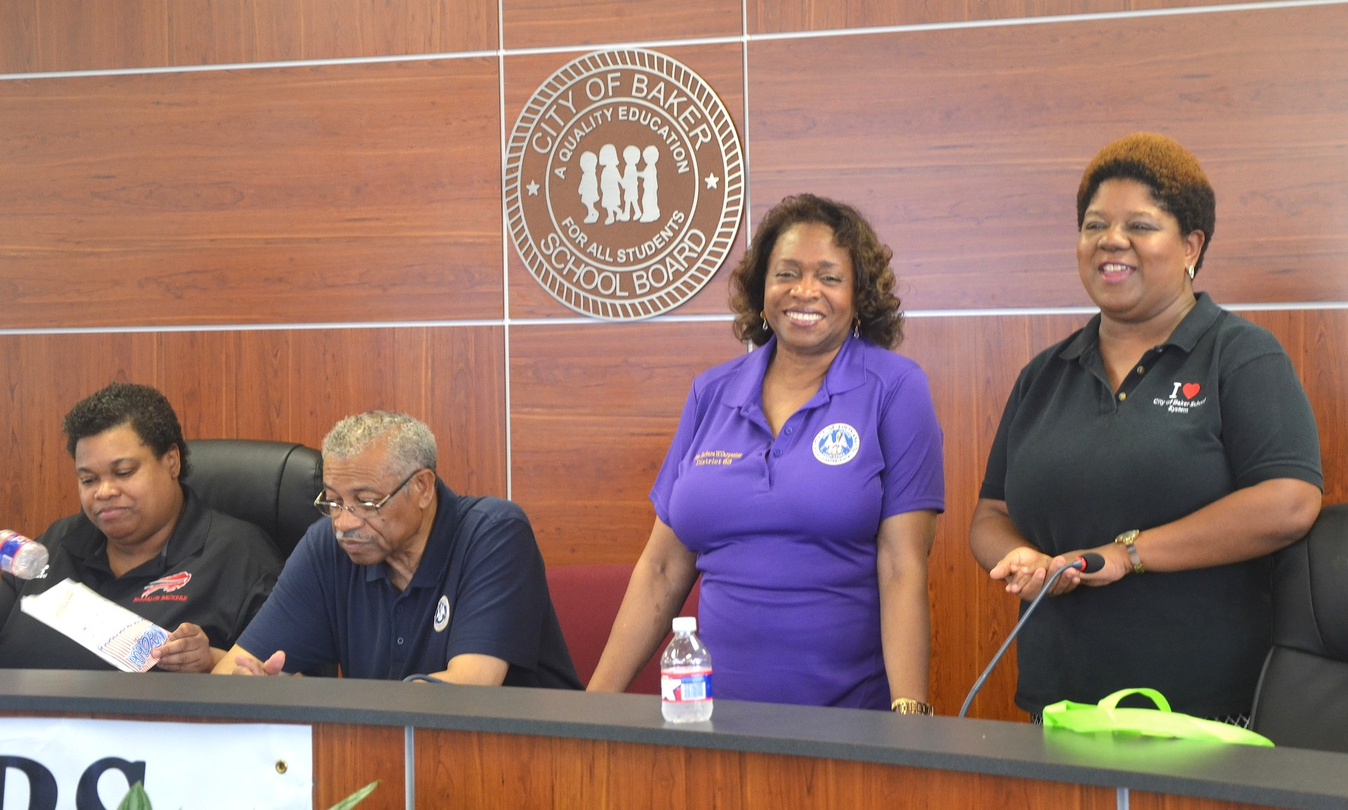 A photo of some of the organizers of the 2017 Back To School Expo