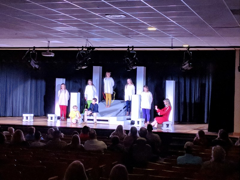 BGJH One Act Play Places 2nd at UIL Competition Thumbnail Image