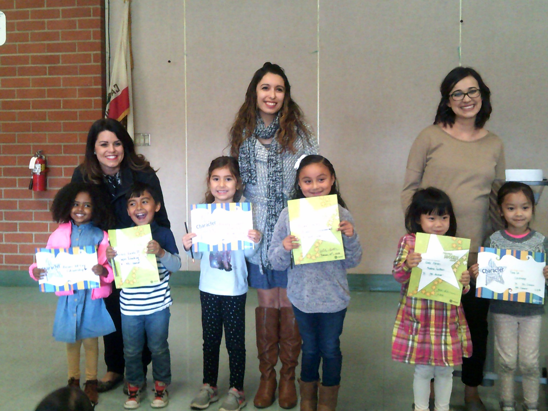 TK & Kindergarten February Honorees