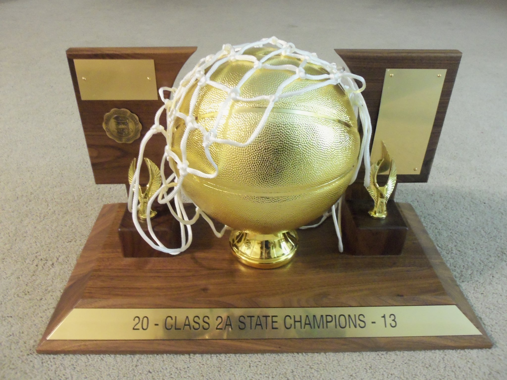 Basketball State Championship trophy