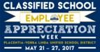 Classified School Employee Appreciation Week 2017 graphic.