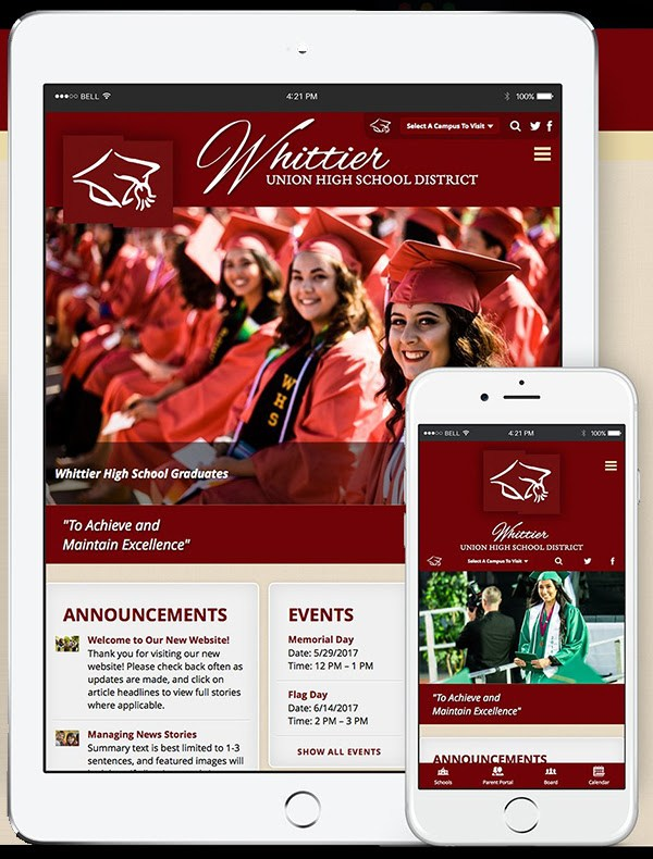 Welcome to the new WUHSD Website! Featured Photo