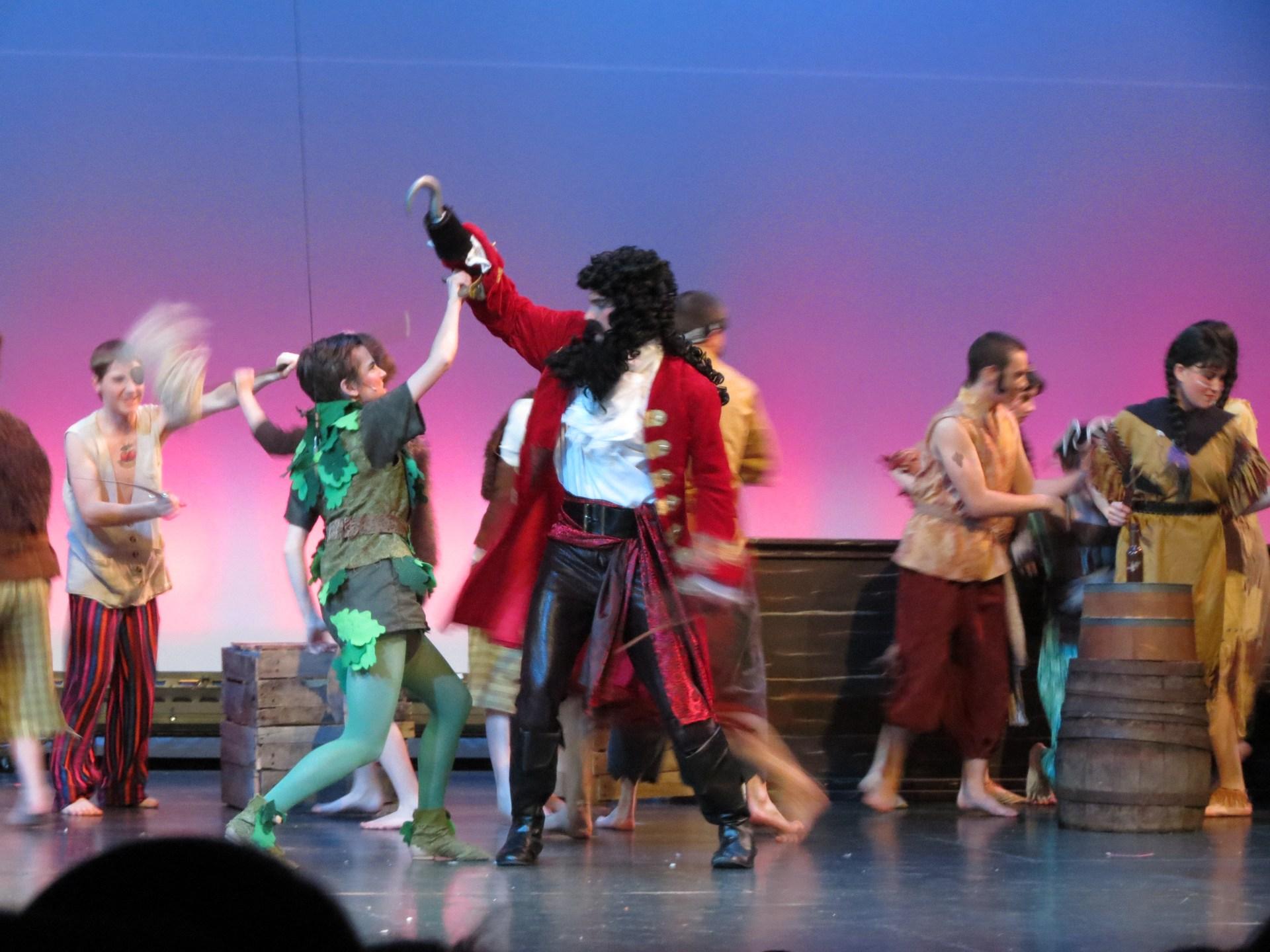 Peter Pan production
