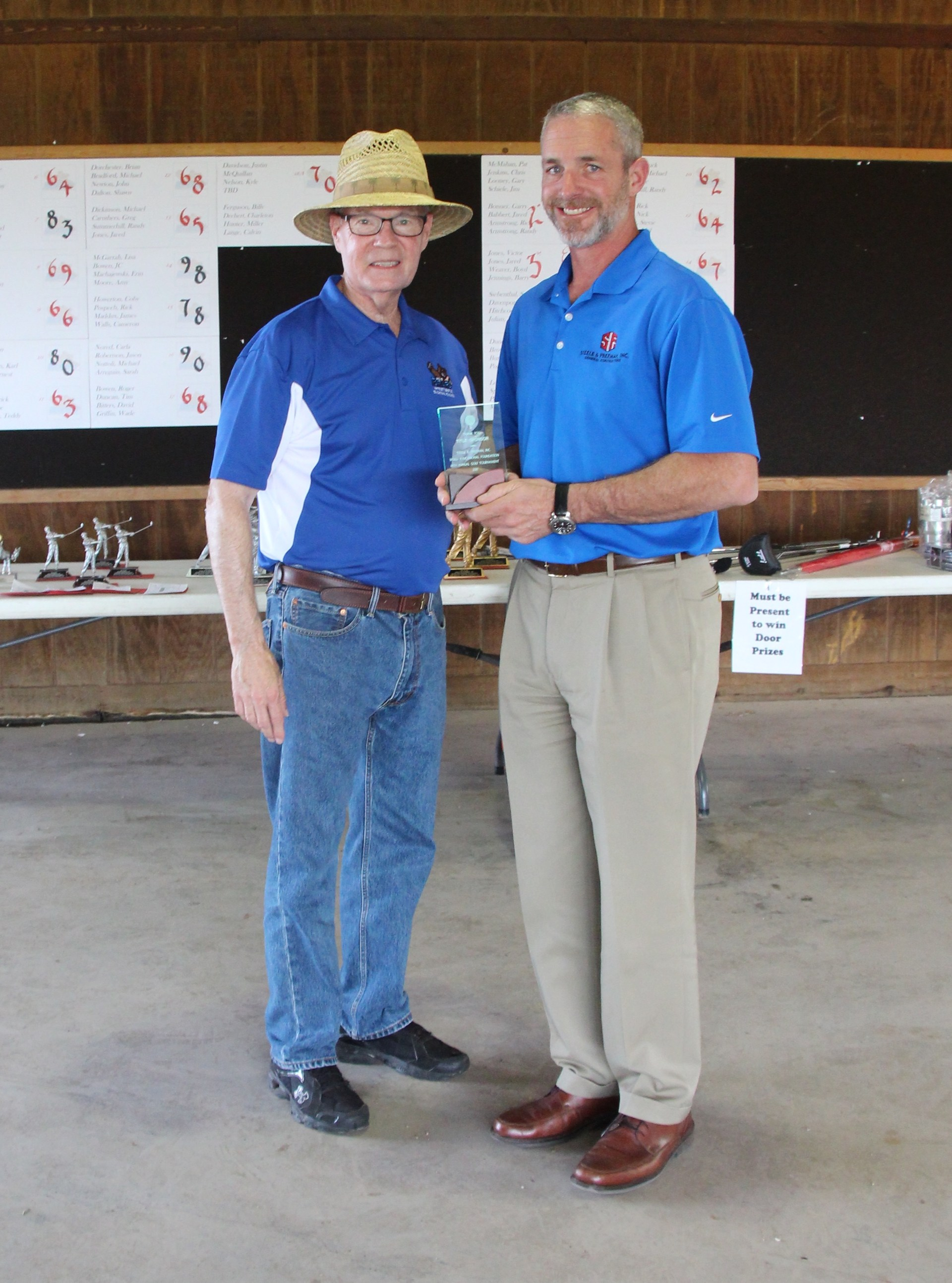 Mike Freeman's company Steele & Freeman, Inc. was the Title Sponsor of the tournament.