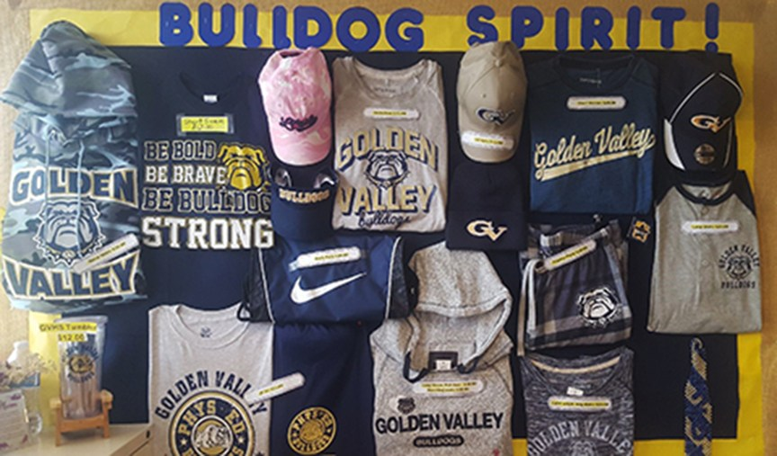 bulldog gear shorts, shirts, etc