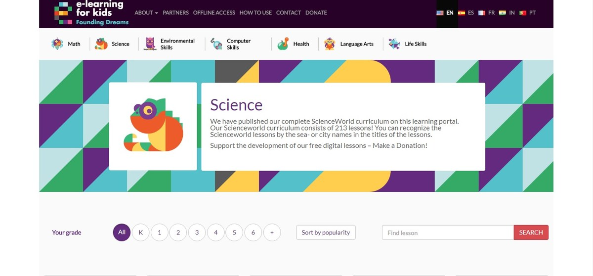 e-Learning Science