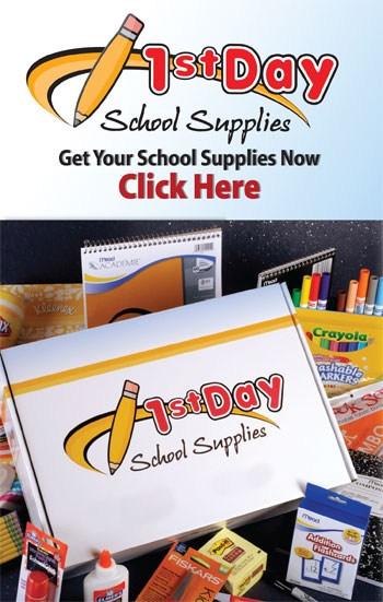 1st Day School Supplies