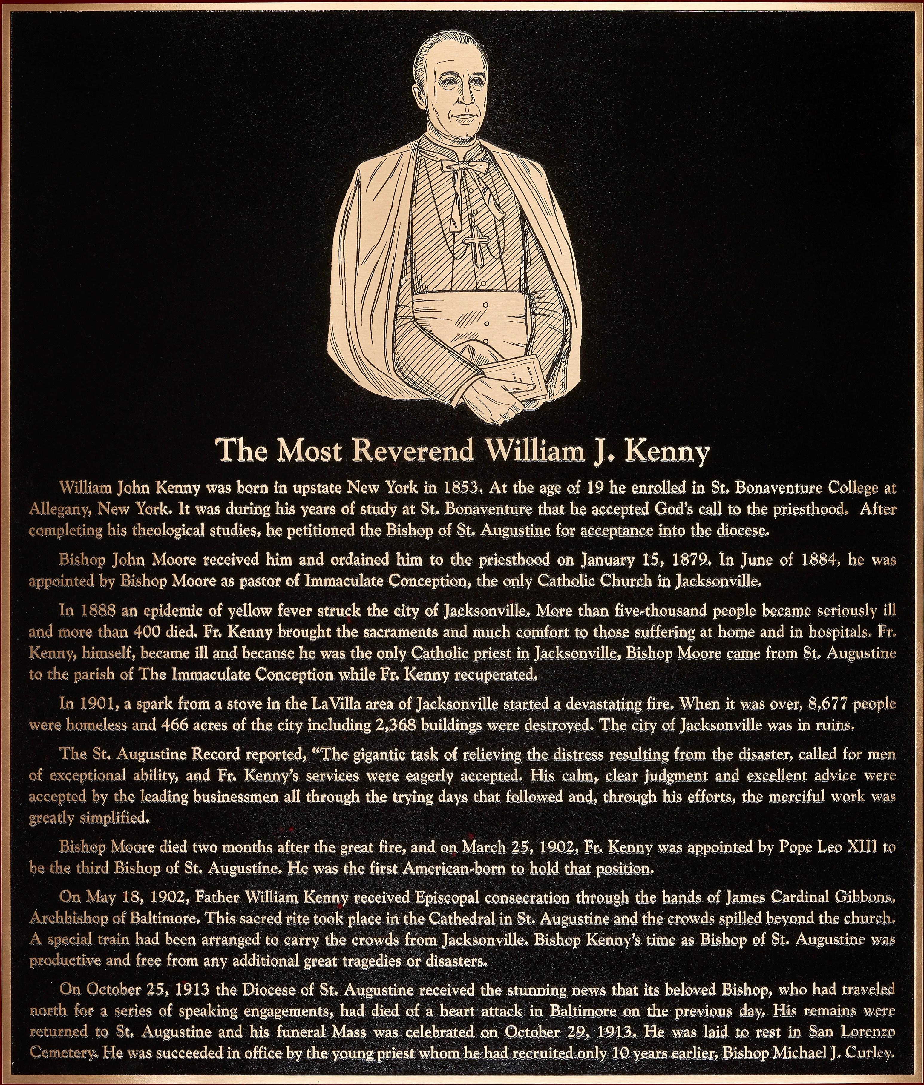 Bishop William J. Kenny