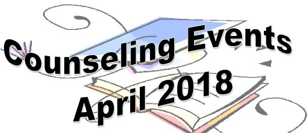 Counseling Events for April Thumbnail Image