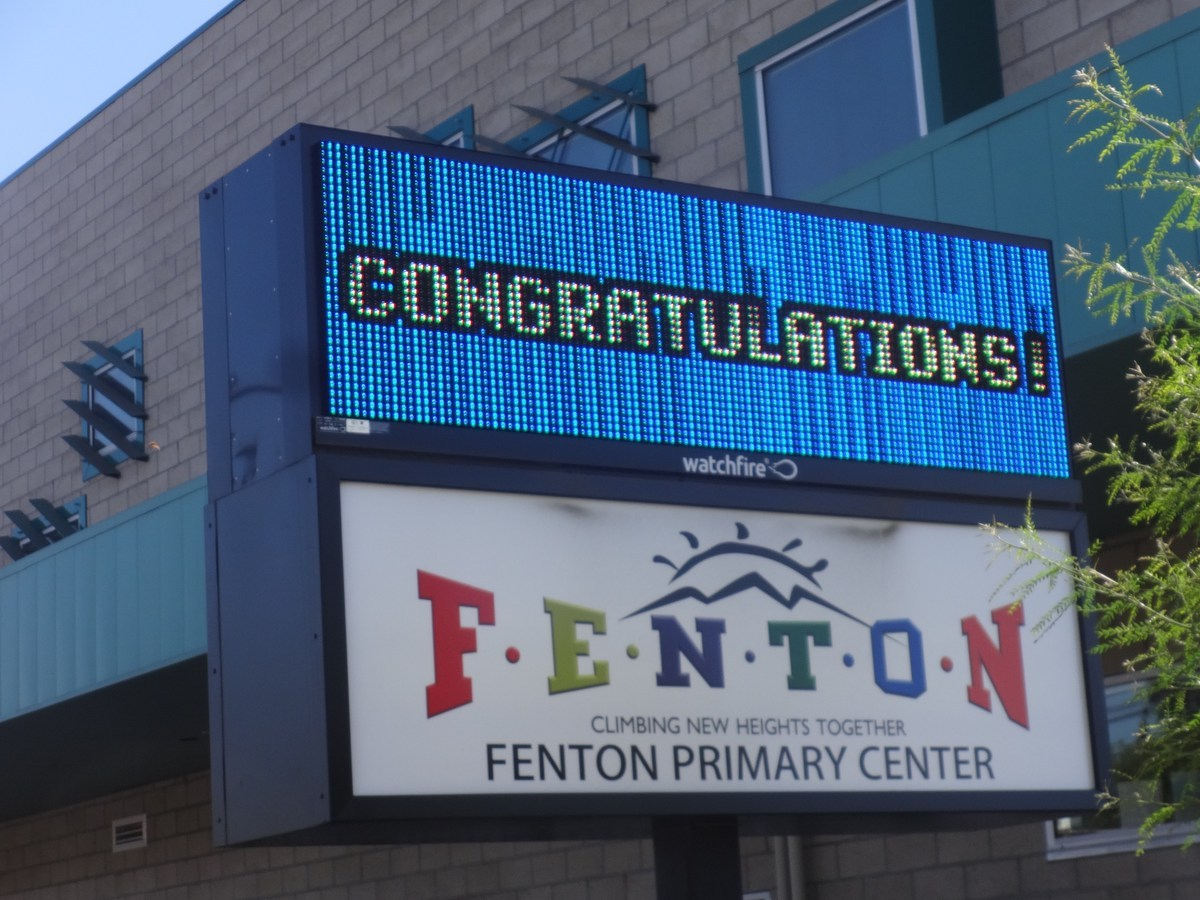 FPC digital banner 'congratulations'