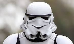 Happy Storm Trooper