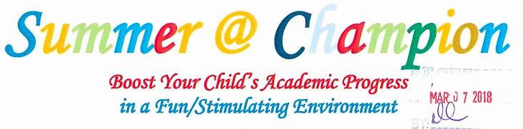 Summer at Champion Logo
