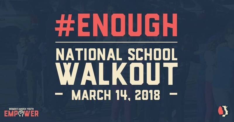 March 14th 10:00am School Walkout Thumbnail Image