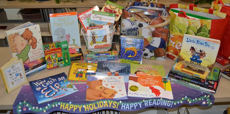Mt. Healthy Teachers and Staff Collect Books for Sharing Tree Featured Photo