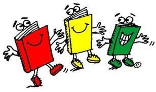 Three dancing books