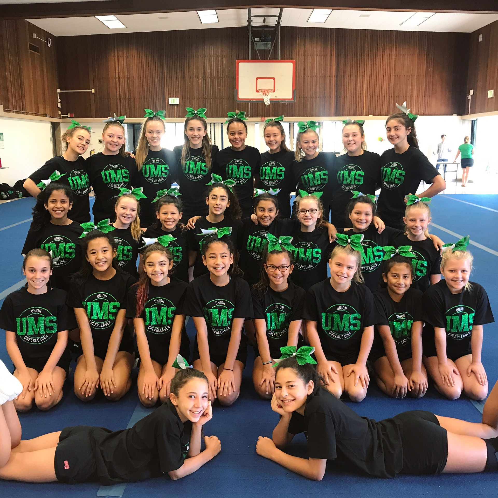 UMS Cheerleaders 2017-2018