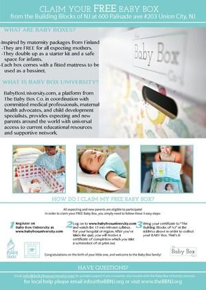 Baby Box flyer