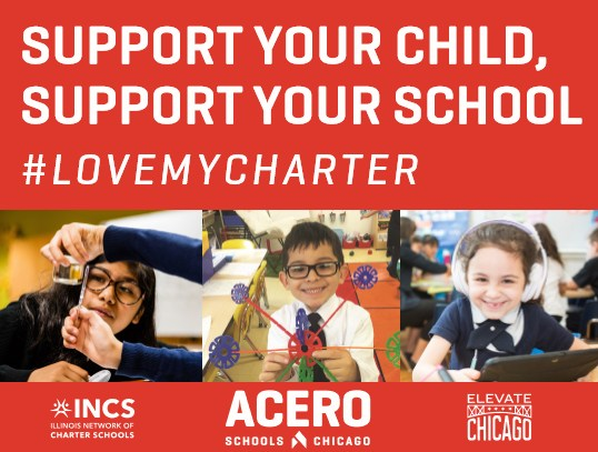 Graphic in support of Charter School Lobby Day.