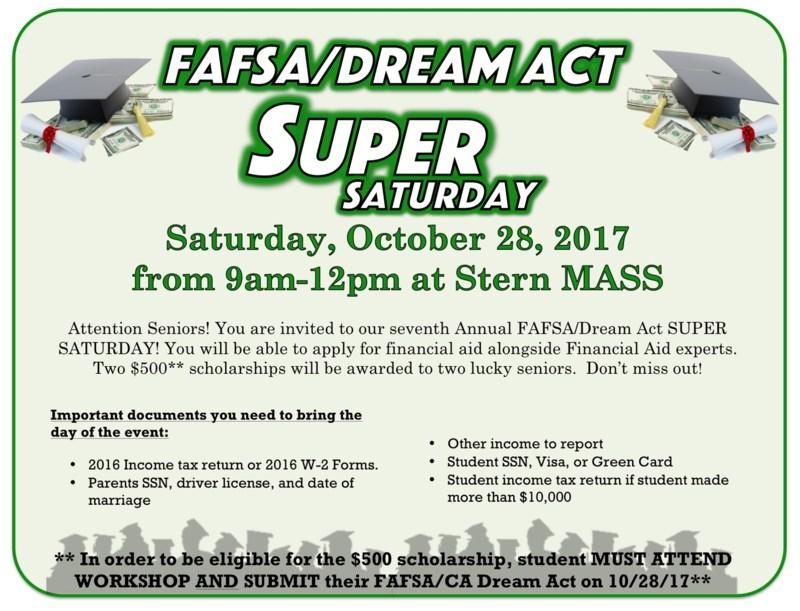 FAFSA Super Saturday Thumbnail Image