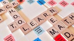 Scrabble Tiles Back to School