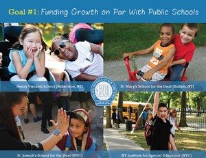 Goal #1: Seeking Funding Growth on Par with Public Schools