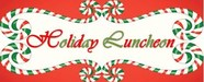 Holiday Luncheon Sign