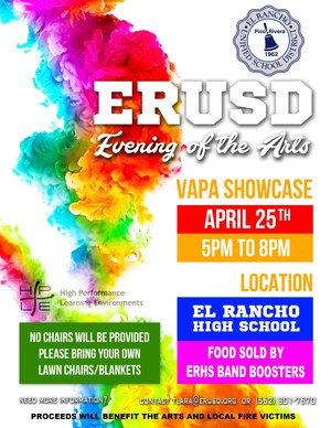 El Rancho Evening of the Arts Flyer