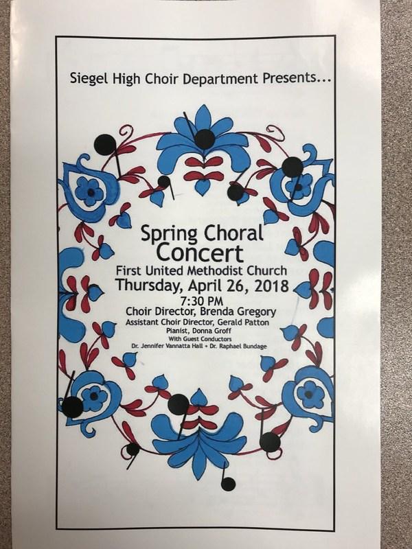 Spring Choral Concert Thumbnail Image
