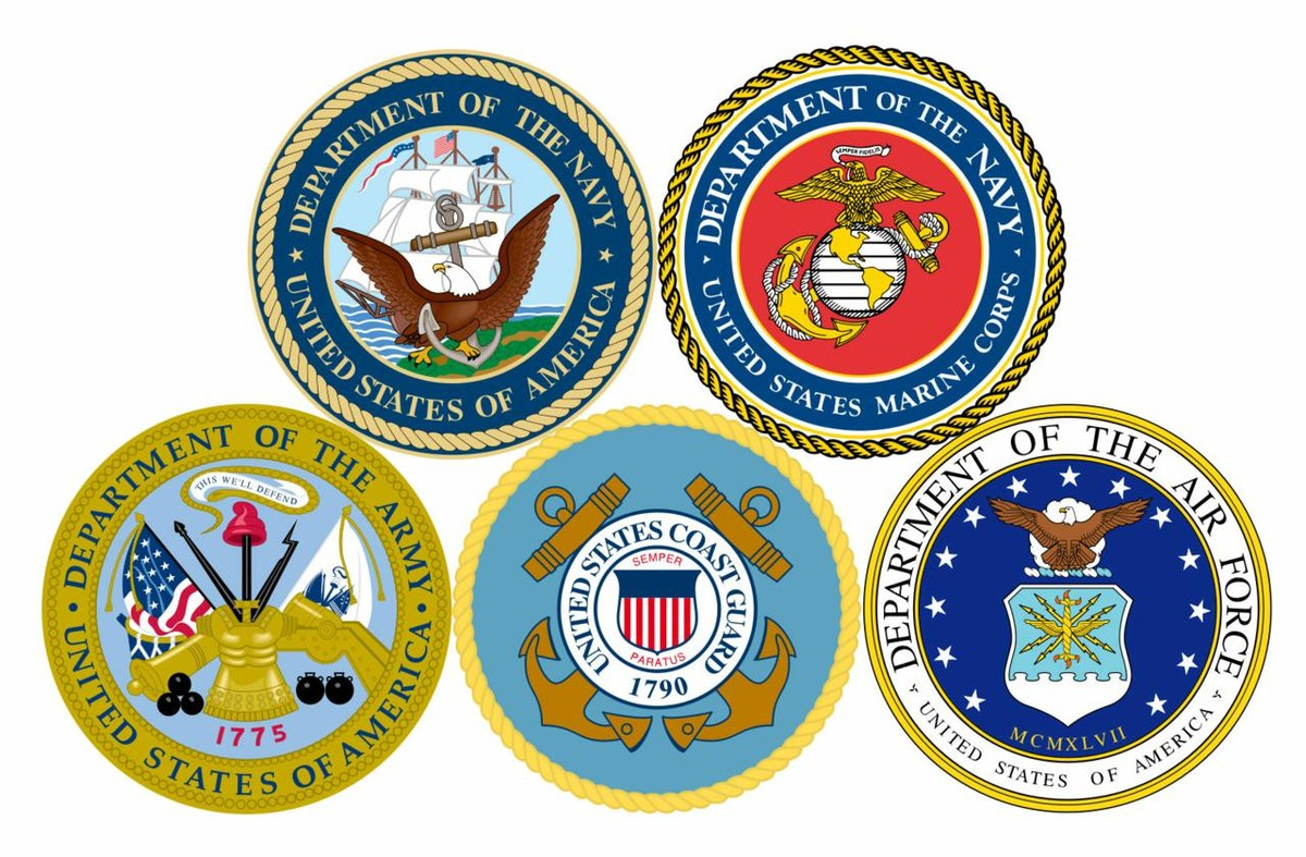 United States Military logos image links to the United States Military Our Legacy page