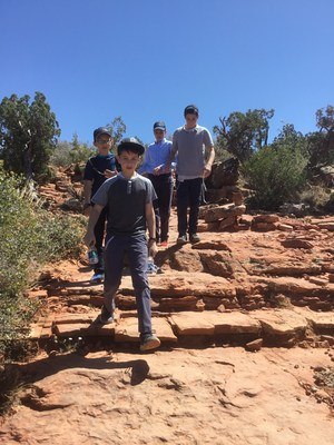 boys at sedona
