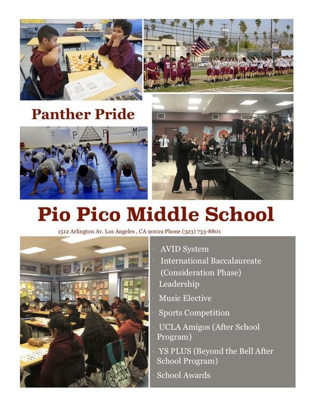 Pio Pico Articulation Flier Thumbnail Image