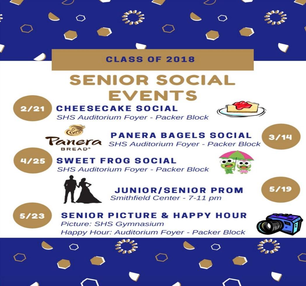 Senior Events Notice