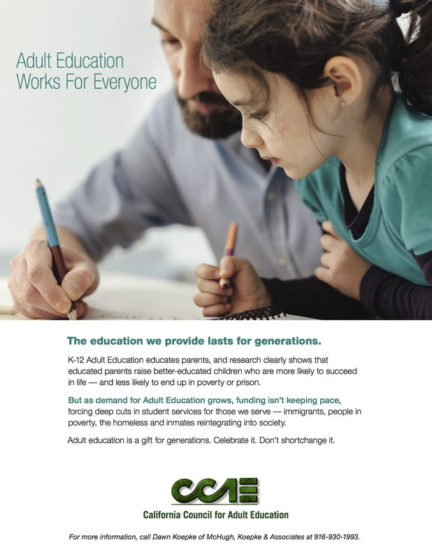 Adult Education Works for Everyone Thumbnail Image