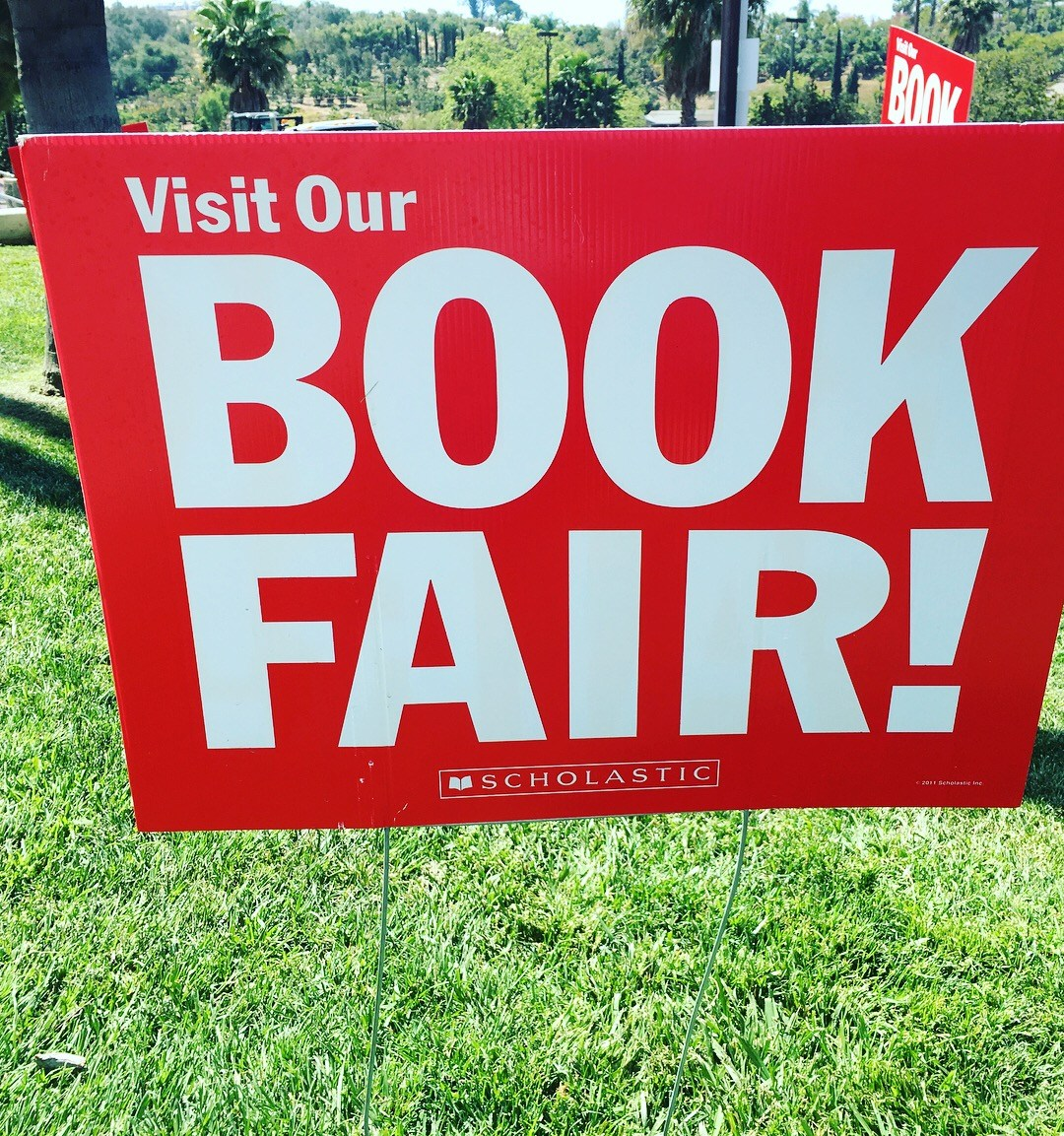 Book Fair Sign