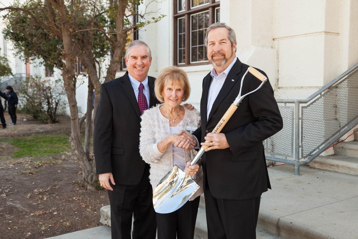 Dr. Barry Kayrell, Marilyn Forst, Brian Cahill