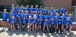 Brewer High School CTE summer camp participants