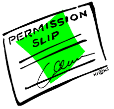 permission slip image