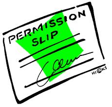 permission slip image