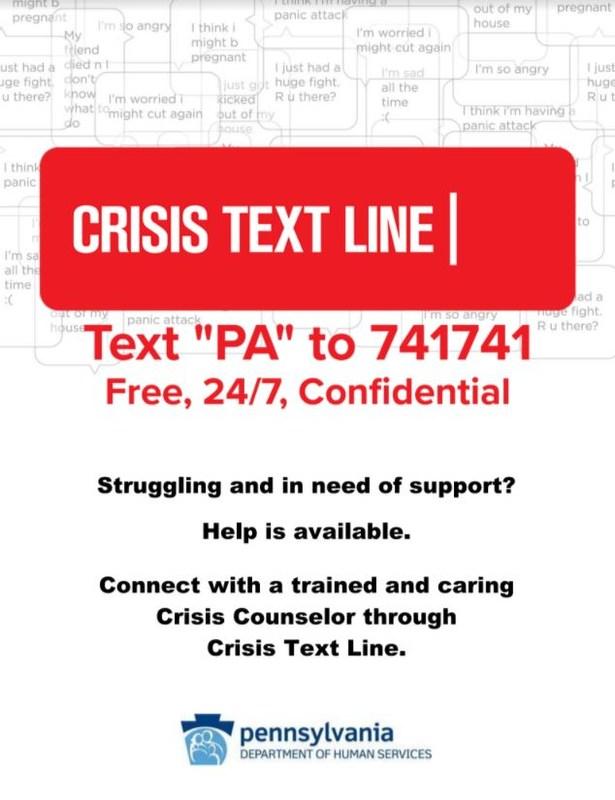 Crisis Text Line Thumbnail Image
