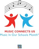 Music in our Schools month logo