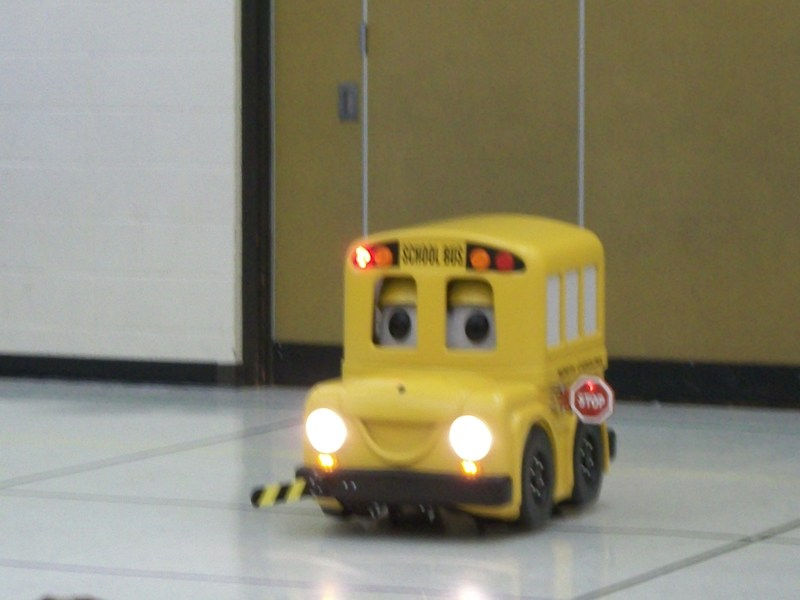 Buster the Bus is a miniature school bus.