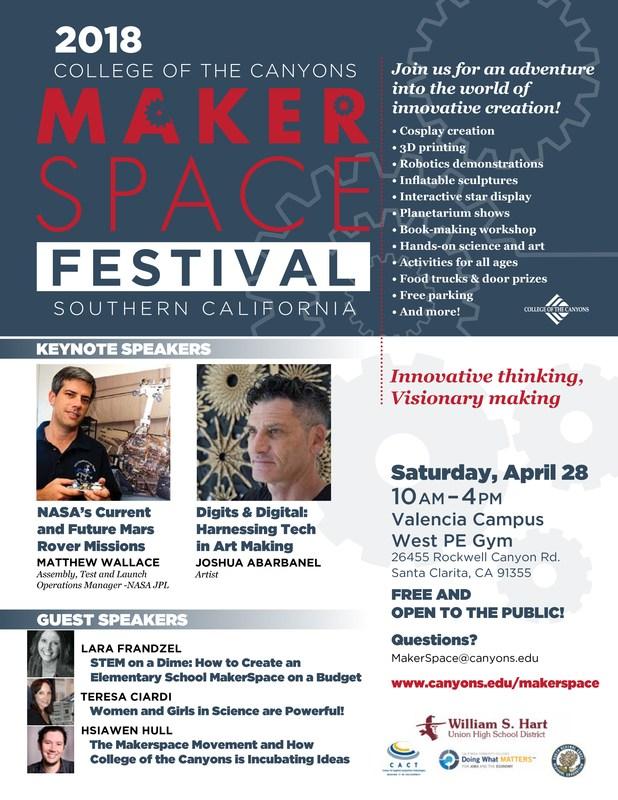 maker space flyer