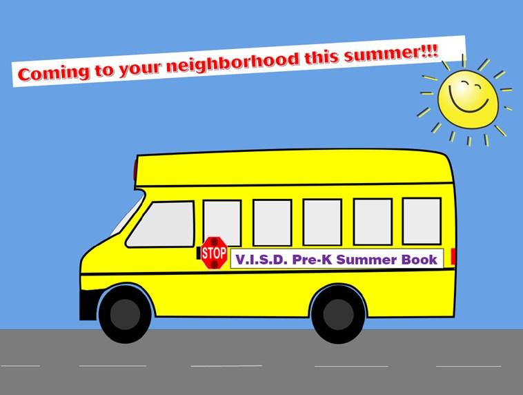 Pre-K Summer Book Bus Thumbnail Image
