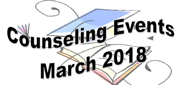 Counseling Events for March Thumbnail Image