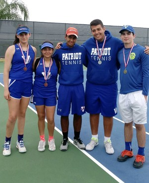 Pictured are: VMHS Regional Qualifiers and Alternates- Michael Howell, Marcos Galvan, and Sebastian Galvan, Linzy Castillo and Kassy Lerma.
