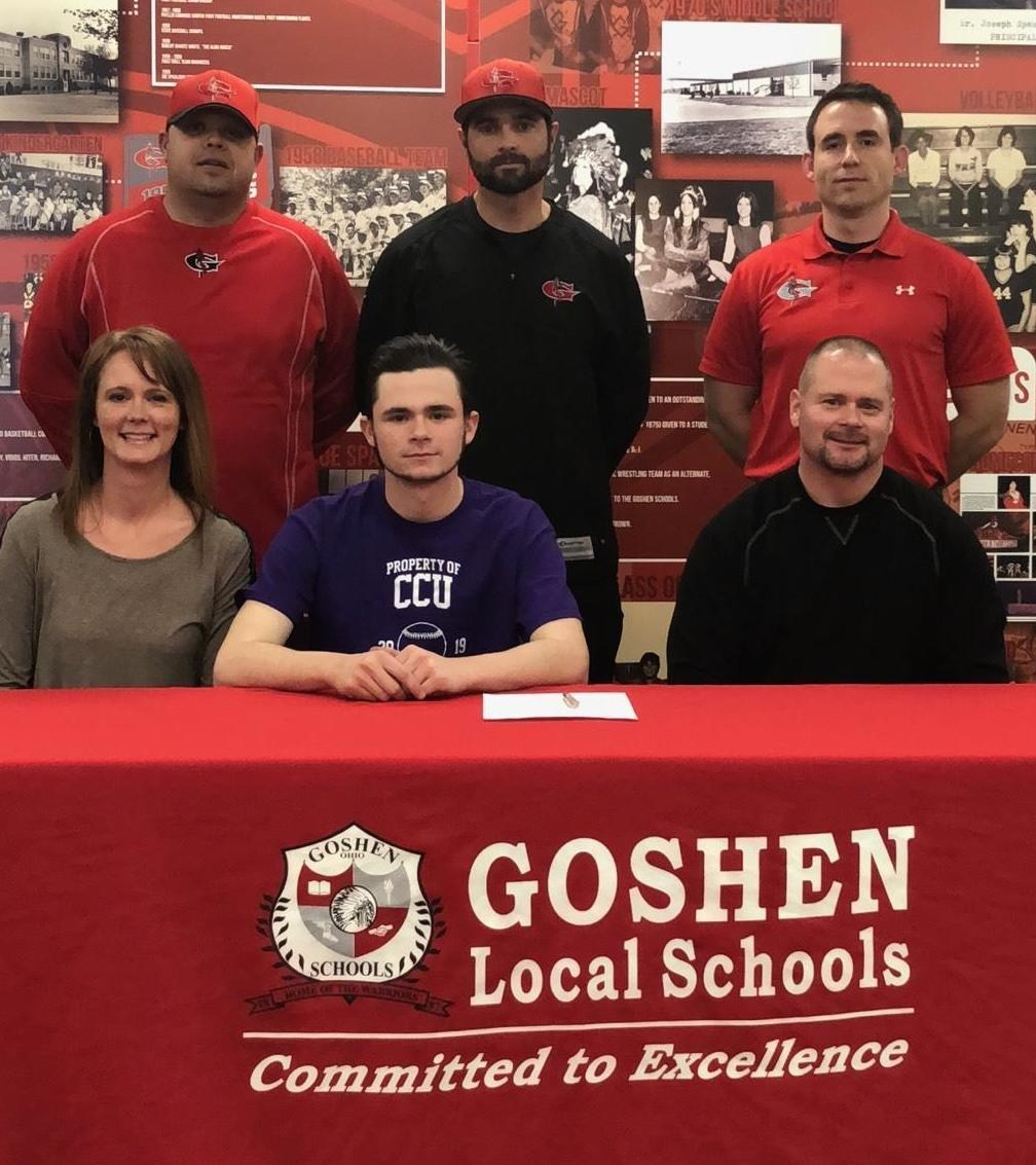 Jared Ellerman signs with Cin. Christian Univ.